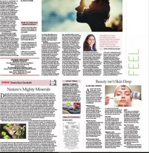 news coverage in sunday standard for Zolie Skin Clinic