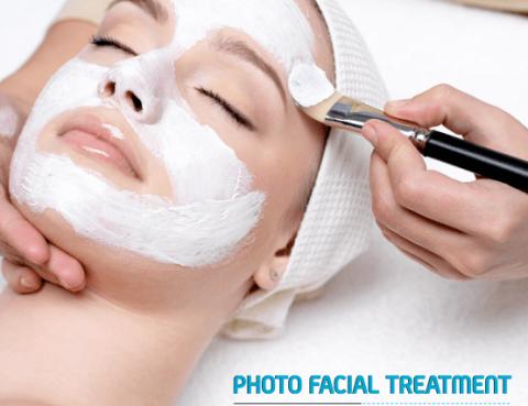 photo facial treatment in Delhi