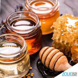 DIY honey caffeine pack